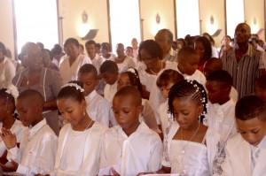 Sainte Anne - Première communion - 2013